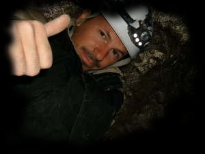 Ste in the cave